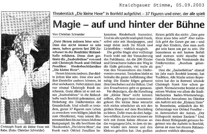presseartikel - www.zauberbuehne.de